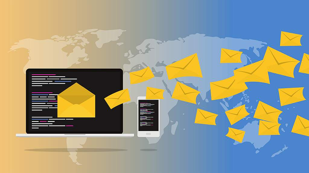 infographic for email newsletter broadcast